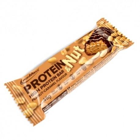 Barrette proteiche IronMaxx, Protein e Nuts, 24 x 45 g