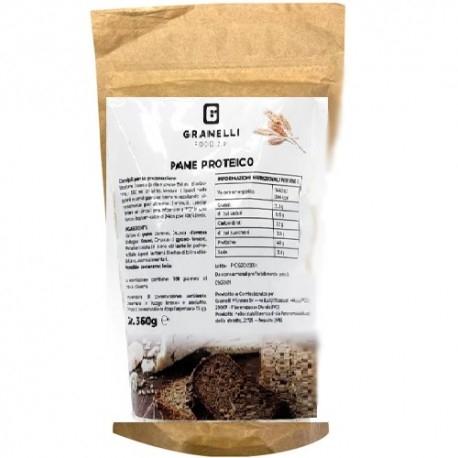 Pane e Prodotti da Forno Granelli Food, Preparato per Pane, 360 g
