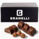 Barrette proteiche Granelli Food, Domino, 8 x 30 g
