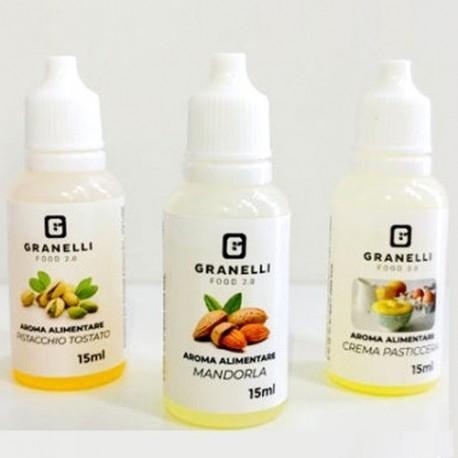 Scadenza Ravvicinata Granelli Food, Aroma Alimentare, 15 ml (Sc.09/2021)