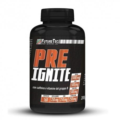Pre Workout FutureTec, Pre Ignite, 60 cpr