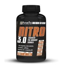 Pre Workout FutureTec, Nitro 3.0, 200 cpr