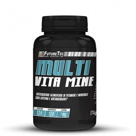 Multivitaminici - Multiminerali FutureTec, Multi Vita.Mine, 120 cpr