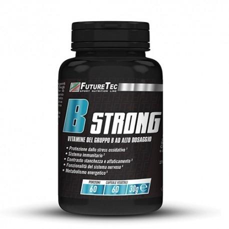 Vitamina B FutureTec, B Strong, 60 cps