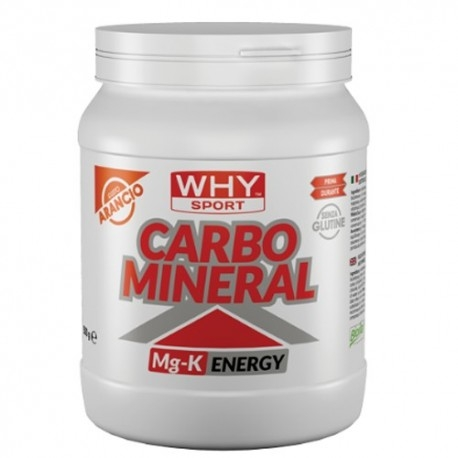 Mix Carboidrati WHY Sport, Carbo Mineral, 500 g.