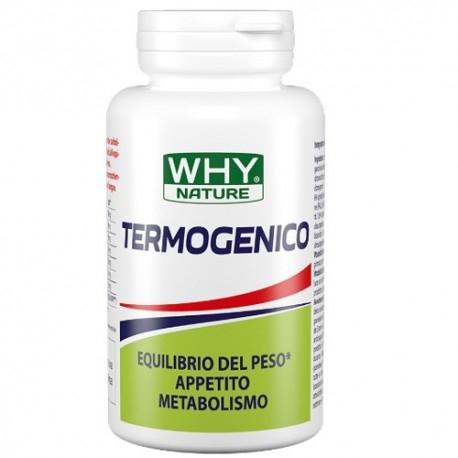 Coadiuvanti diete dimagranti Why Nature, Termogenico, 60 cps