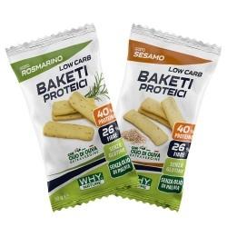 Pane e Prodotti da Forno Why Nature, Baketi Proteici, 30 g