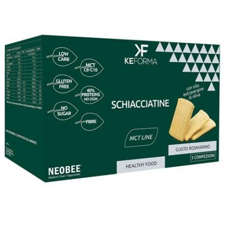 Pane e Prodotti da Forno Keforma, Schiacciatine, 3 x 30 g