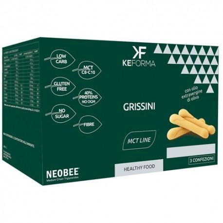 Pane e Prodotti da Forno Keforma, Grissini, 3 x 30 g