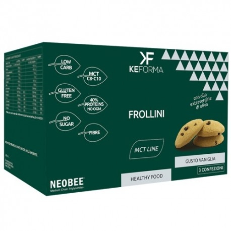 Biscotti e Dolci Keforma, Frollini, 3 x 30 g
