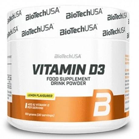 Vitamina D BioTech Usa, Vitamin D3, 150 g