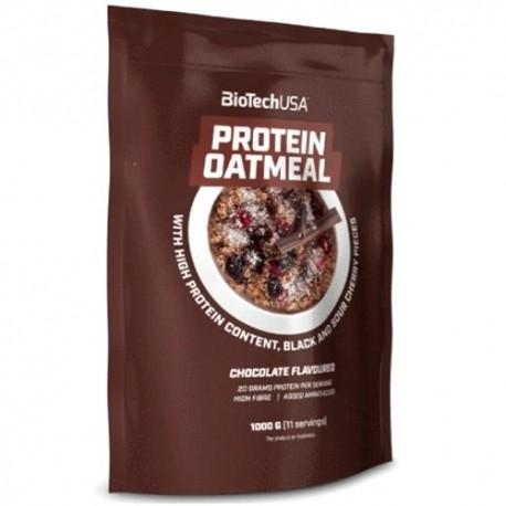 Farine BioTech Usa, Protein Oatmeal, 1000 g