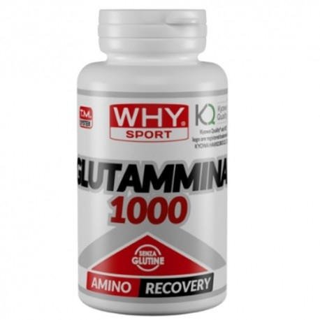WHY Sport, Glutammina 1000, 100 cpr.