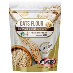 Offerte Limitate Pro Nutrition, Farina di Avena Bio, 800 g