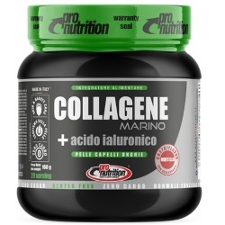 Collagene Pro Nutrition, Collagene Marino + Acido ialuronico, 160 g
