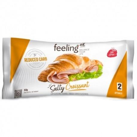 Pane e Prodotti da Forno Feeling Ok, Salty Croissant Optimize, 50 g