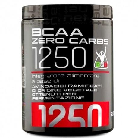 Aminoacidi Ramificati (Bcaa) Net Integratori, Bcaa Zero Carbs 1250, 200 cpr