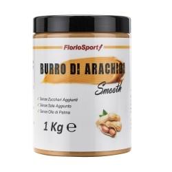 Burro di Arachidi FlorioSport, Burro di Arachidi Smooth, 1000 g
