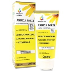 Creme Lenitive Optima Naturals, Arnica Forte, 100 ml