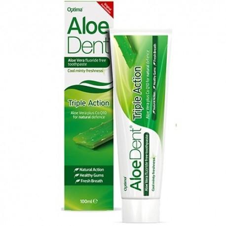 Dentifricio Optima Naturals, AloeDent Dentifricio Protezione Totale, 100 ml