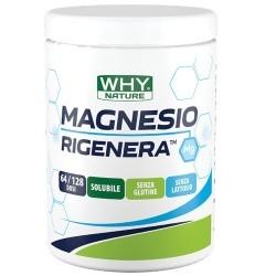 Zinco e Magnesio WHY Nature, Magnesio Rigenera, 300 g