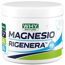 Zinco e Magnesio WHY Nature, Magnesio Rigenera, 150 g