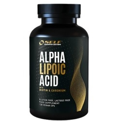 Acido lipoico Self Omninutrition, Alpha Lipoic Acid, 120 cps