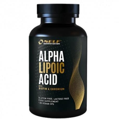 Acido lipoico Self Omninutrition, Alpha Lipoic Acid, 120 cps