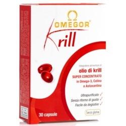 Omega 3 Omegor, Krill Oil, 30 perle