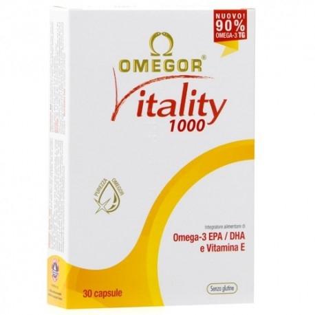 Omega 3 Omegor, Vitality 1000, 30 perle