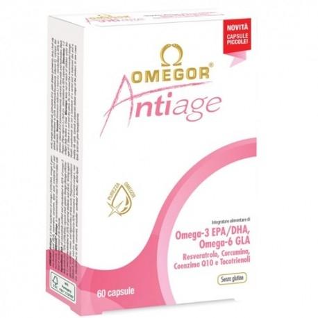 Omega 3 Omegor, Antiage, 60 perle