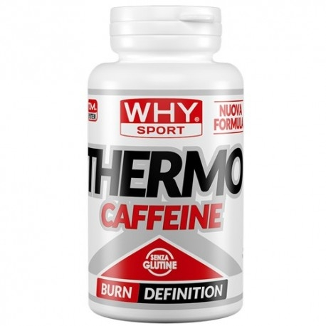 Dimagranti WHY Sport, Thermo Caffeine, 90 cpr.