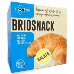 Pasti e Snack EatPro, Briosnack Salty Fibre, 3 x 45 g