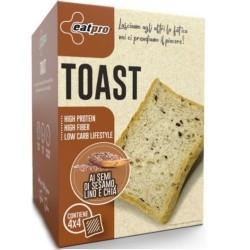 Pane e Prodotti da Forno EatPro, Toast, 4 x 40 g