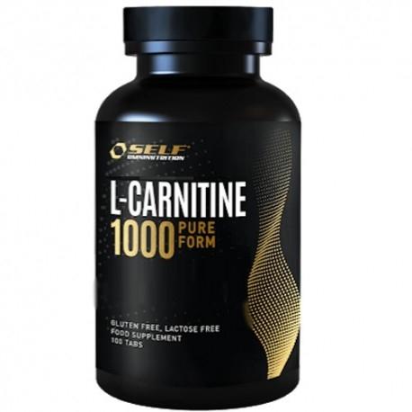Carnitina Self Omninutrition, Carnitine 1000, 100 cpr