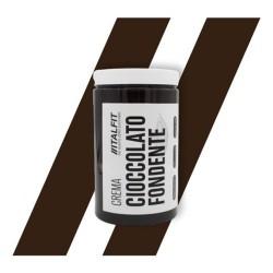 Creme Proteiche ItalFit, Crema Cioccolato Fondente, 370 g
