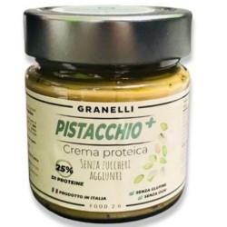 Creme Proteiche Granelli Food, Pistacchio +, 250 g