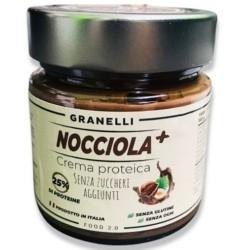 Creme Proteiche Granelli Food, Nocciola +, 250 g
