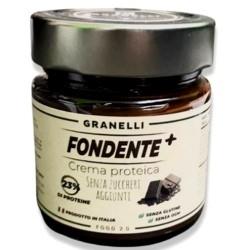 Creme Proteiche Granelli Food, Fondente +, 250 g