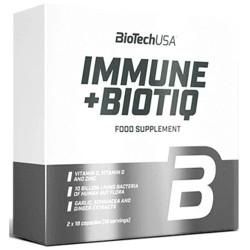 Probiotici BioTech Usa, Immune+ Biotiq, 2 x 18
