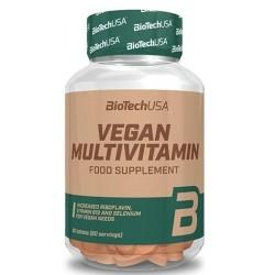 Multivitaminici - Multiminerali Biotech Usa, Vegan Multivitamin, 60 cpr
