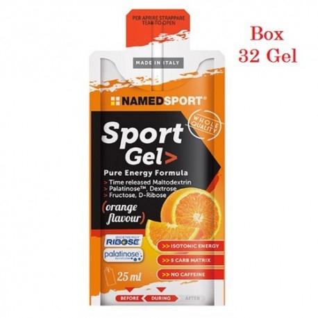 Carbogel Named Sport, Sport Gel Energy, 32 x 25 ml