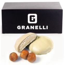 Biscotti e Dolci Granelli Food, CuorDì Cioccolato Bianco, 10 x 17 g