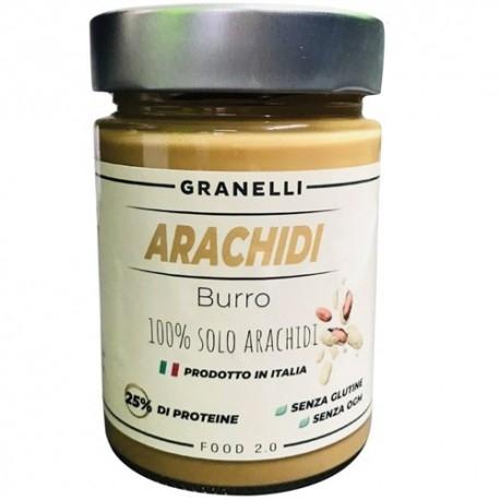 Burro di Arachidi Granelli Food, Burro di arachidi, 300 g