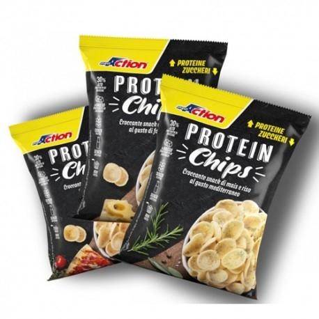 Pasti e Snack Proaction, Chips, 25 g
