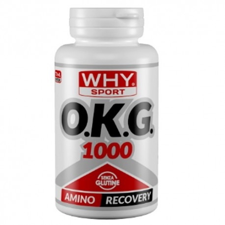 Ornitina WHY Sport, OKG, 60 cpr