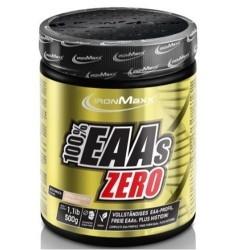 Aminoacidi essenziali IronMaxx, 100% EAAs Zero, 500 g
