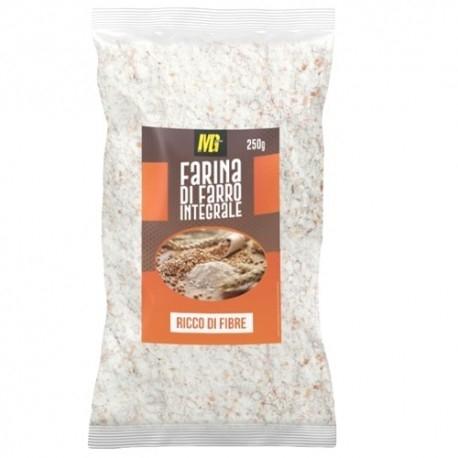 Scadenza Ravvicinata MG Food, Farina di Farro Integrale, 250 g (Sc.10/2021)
