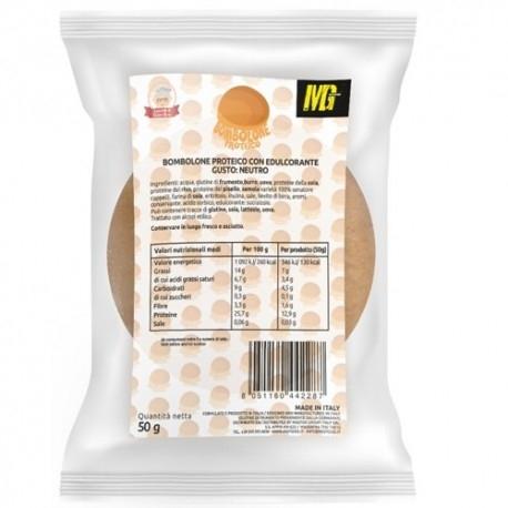 Pane e Prodotti da Forno MG Food, Bombolone Proteico Neutro, 50 g