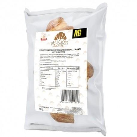 Pane e Prodotti da Forno MG Food, Delicious Croissant Classico, 50 g